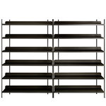 Compile shelf, Configuration 8, black
