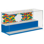 Lego Play & Display case, bright blue
