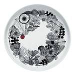 Marimekko Oiva - Siirtolapuutarha salad platter, 32 cm