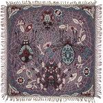Spider peitto, 120 x 120 cm, violetti