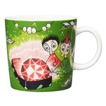 Moomin mug, Thingumy and Bob, green