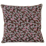 Ferm Living Salon cushion, 40 x 40 cm, Flower, rust