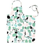 Tutti Frutti apron, light green