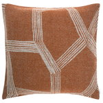 Himmeli cushion cover, terracotta