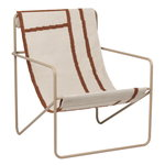 Desert lounge chair, cashmere - shapes