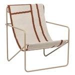 Ferm Living Desert lounge chair, cashmere - shapes