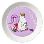 Moomin plate 19 cm, Snorkmaiden lilac
