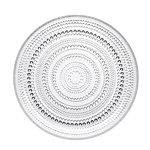 Kastehelmi plate 248 mm, clear