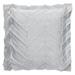 Iittala X Issey Miyake Zigzag cushion cover, light grey