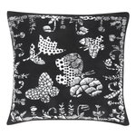 Aamos cushion cover 45 x 45 cm, white - black