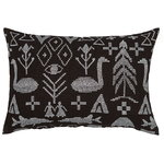 Maailman synty cushion, black
