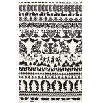 Y� mets�ss� tea towel, white-black