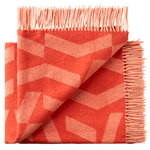 Dashes throw, orange - rose