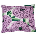 Primavera pillowcase, off white - violet - green