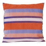 Salon cushion, 40 x 40 cm, Pleat, rust