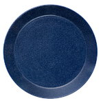 Teema plate 26 cm, dotted blue