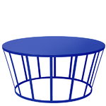 Hollo coffee table, blue