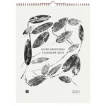 River Greetings 2019 wall calendar