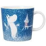 Moomin mug, Light Snowfall