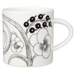 Arabia Paratiisi mug 0,35 L, black