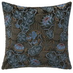 Klaus Haapaniemi Iceflower cushion cover, velvet, green