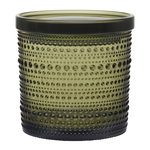 Kastehelmi jar 116 x 114 mm, moss green