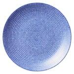 24h Avec plate 26 cm, blue