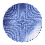 24h Avec plate 20 cm, blue