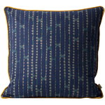 Ferm Living Aligned cushion, blue