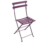 Bistro Metal chair, aubergine