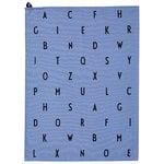 Arne Jacobsen keitti�pyyhe, Vintage ABC, sininen