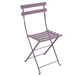 Bistro Metal chair, plum