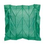Iittala X Issey Miyake Herringbone cushion cover, emerald
