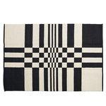 Tappeto Gaia 160 x 240 cm, nero