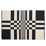 Gaia rug 160 x 240 cm, black