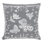 Aamos cushion cover 45 x 45 cm, white - grey