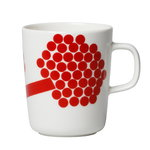 Oiva - Hortensie mug 2,5 dl, red