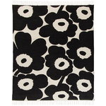Unikko throw, white-black