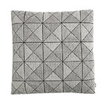 Tile cushion, black/white