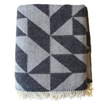 Twist a Twill blanket, dark grey