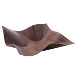 Tuisku bowl large, walnut