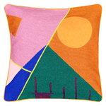 Finarte Zeniitti cushion cover 50 x 50 cm, pink - brown