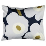 Unikko pillowcase 50 x 60 cm, navy - light grey