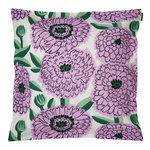 Pieni Primavera cushion cover 45 x 45 cm, off white-violet-green