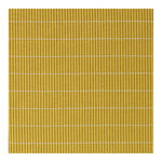 Line rug, yellow - light sand
