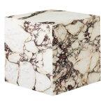 Menu Plinth pöytä, kuutio, Calacatta Viola marmori