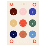 Nine Moods poster, 50 x 70 cm