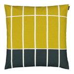 Marimekko Tiiliskivi tyynynpäällinen 50 x 50 cm, t.vihreä - beige - lime