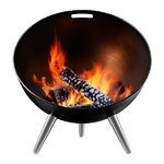 FireGlobe outdoor fireplace