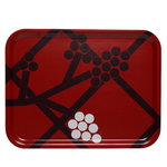 Hortensie tray, red